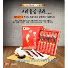 Hồng sâm củ tẩm mật ong Hàn Quốc KGS 300g x 6