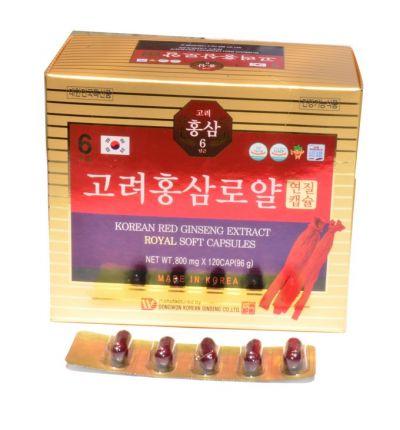 Viên hồng sâm Hàn Quốc Dongwon 120 viên