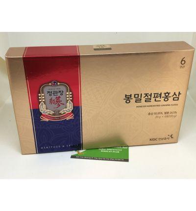 Sâm lát tẩm mật ong KGC cao cấp Chính Phủ Hàn Quốc 120 gam