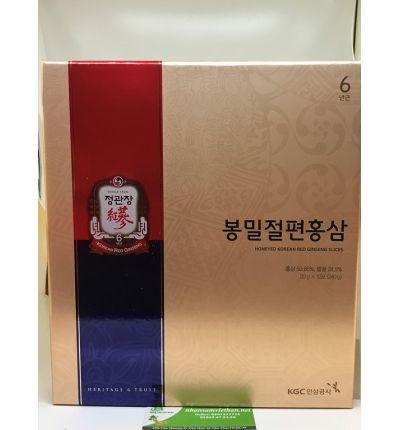 Sâm lát tẩm mật ong KGC cao cấp Chính Phủ Hàn Quốc 240 gam